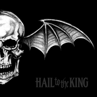 Hail to the King album's cover'